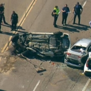 One killed, 2 injured in 4-car crash in Clairemont area of San Diego