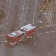 One killed in fiery Culver City crash