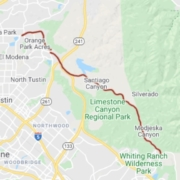 Multiple crashes reported east of Tustin on Santiago Canyon Road